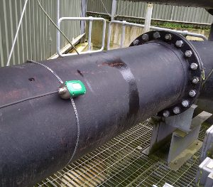 Liquid Flow Monitoring in Pipes